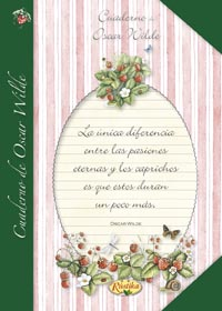Cuaderno de Oscar Wilde