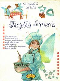 Tarjetas de menú: El mundo de las hadas