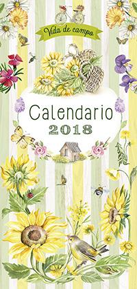Calendario 2018 vida de campo