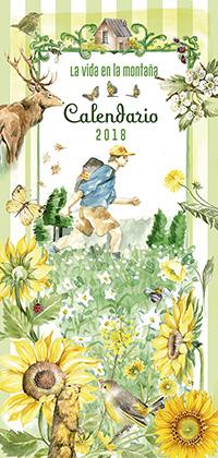 Calendario 2018 la vida en la montaña