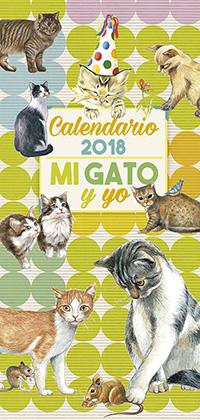 Calendario 2018 mi gato y yo