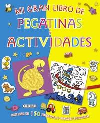 Mi gran libro de pegatinas y actividades