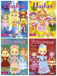 Vestidos mágicos (4 títulos)