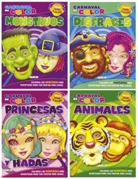 Carnaval color (4 títulos)
