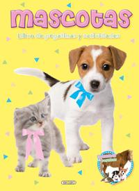 Mascotas. Libro de pegatinas y actividades