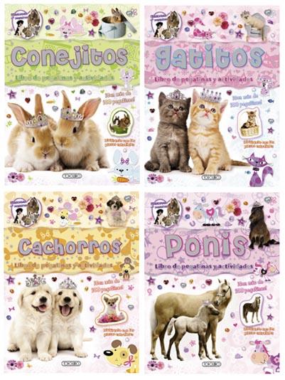 Mascotas con pegatinas