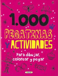 1.000 Pegatinas y actividades para dibujar, colorear y pegar