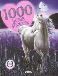 1000 Horse stickers. Horses Passion