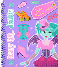 Design my accessories, Scary girl design