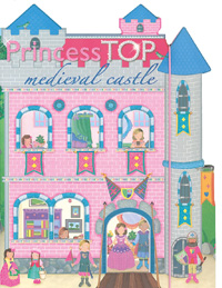 Princess top medieval castle