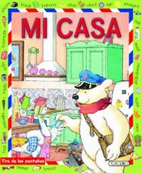 Mi casa. Diccionario bilingüe español inglés