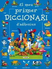 El meu primer diccionari d´adhesius (blau)