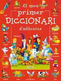 El meu primer diccionari d´adhesius (vermell)