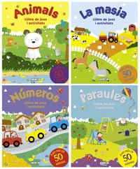 Llibre de jocs i activitats (4 títols)