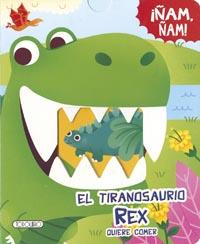 El tiranosaurio Rex quiere comer