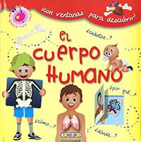 El cuerpo humano con ventanas para descubrir