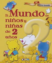 El mundo de niños y niñas de 2 años