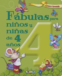 Fábulas para niños y niñas de 4 años