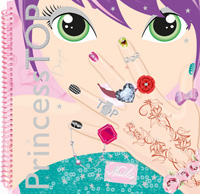 Princess Top designs nails