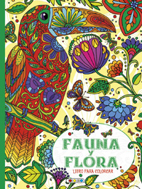 Fauna y flora libro para colorear