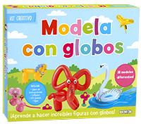 Modela con globos