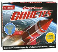 Construye cohetes