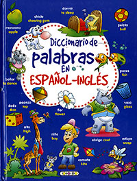 Diccionario de palabras en español - inglés