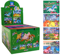 Mini pop-up Unicornios - Estuche de 12 ejemplares