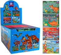 Mini pop-up Dinosaurios - Estuche de 12 ejemplares