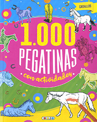 Caballos 1.000 pegatinas con actividades