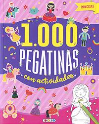 Princesas 1.000 pegatinas con actividades
