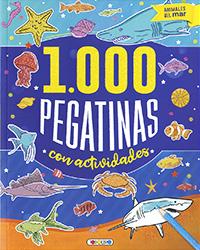 Animales del mar 1.000 pegatinas con actividades
