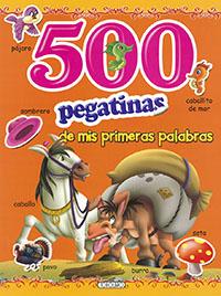 500 Pegatinas de mis primeras palabras
