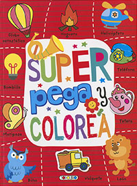 Super Pega y colorea