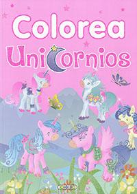 Colorea unicornios