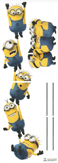 Poster Minions chain