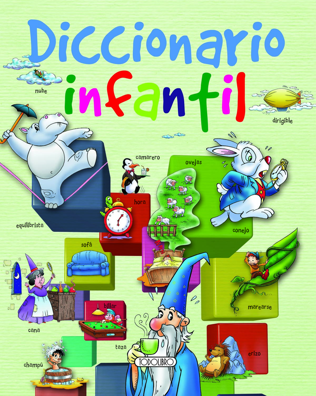 Libro Didáctico - Todolibro-Castellano - Diccionario infantil - Todo ...