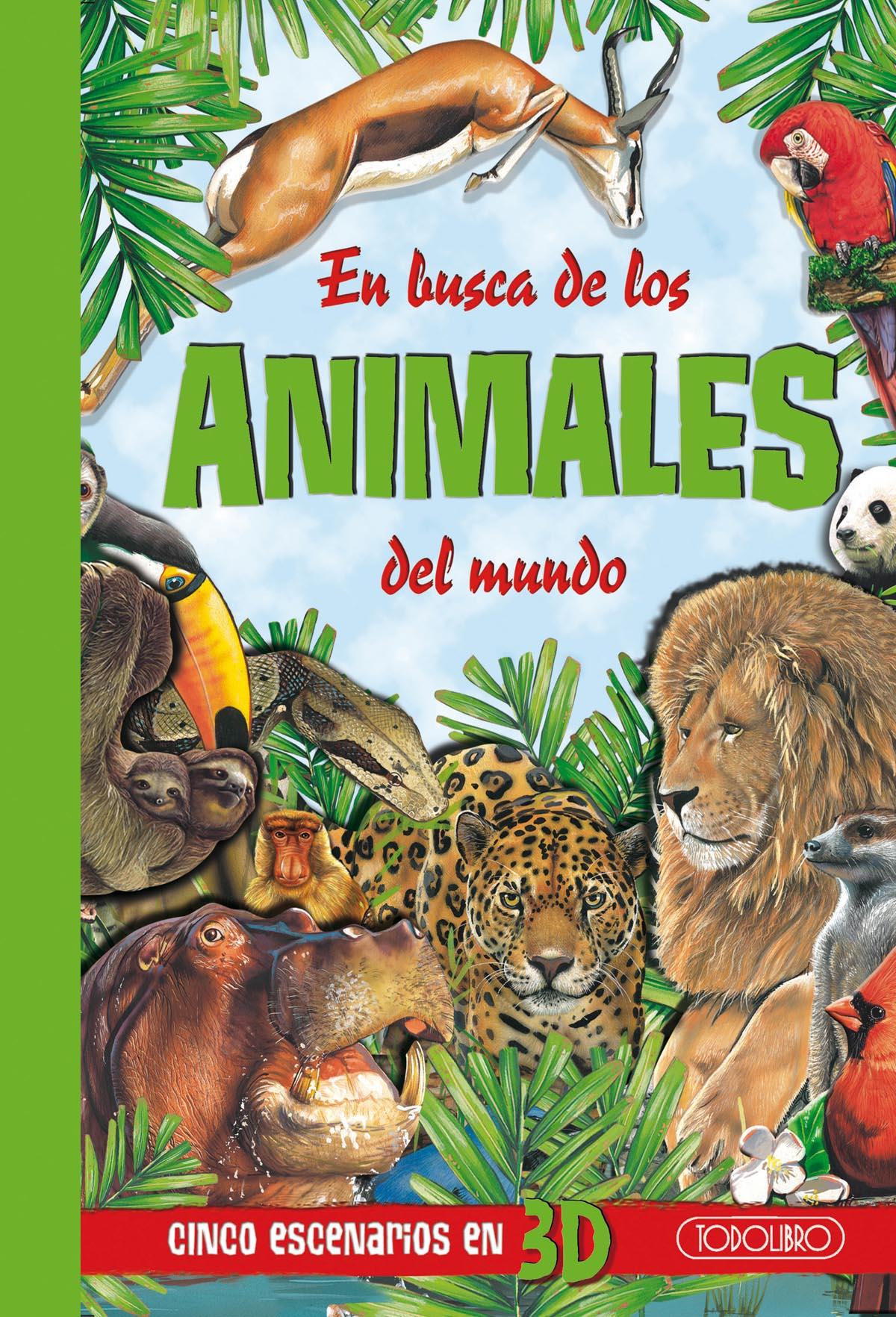 libro de animales todolibro castellano en busca de los