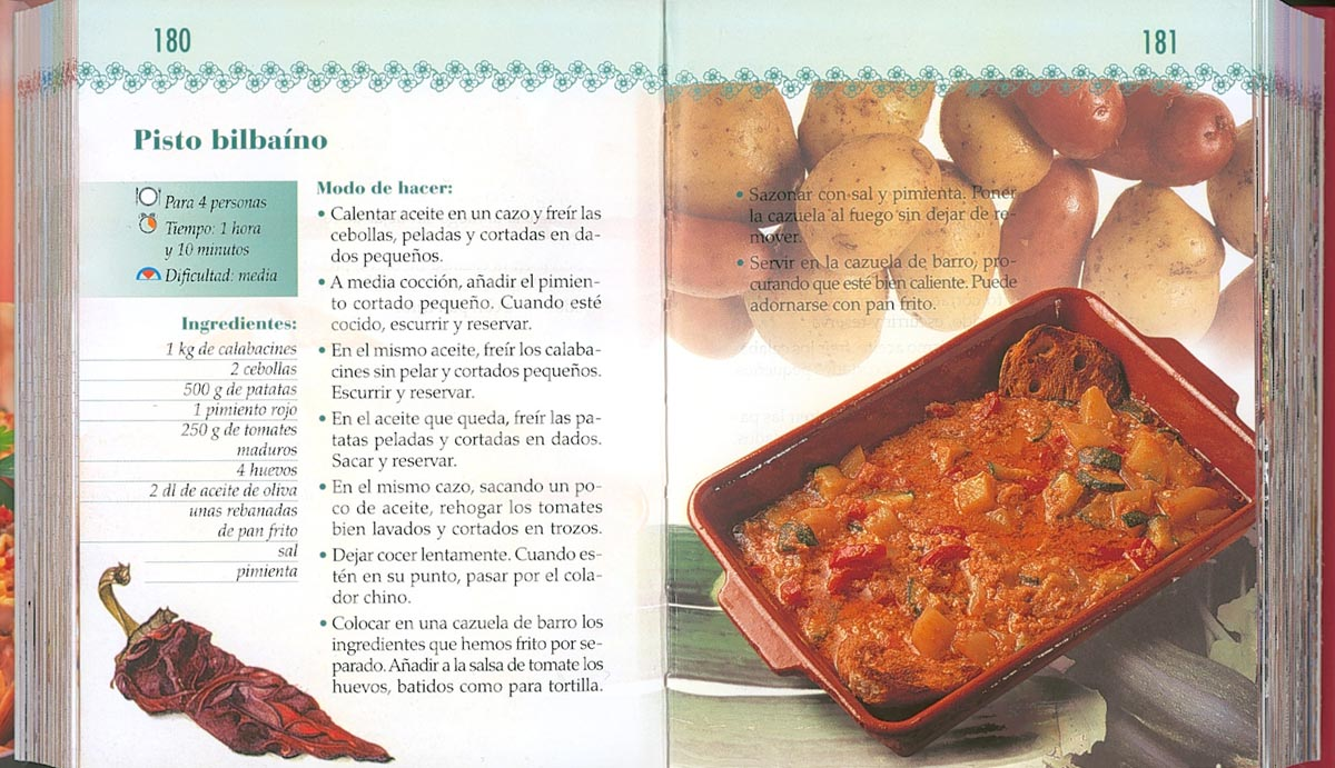 Libro Recetas Cocina - Todolibro-Castellano - Cocina española - Todo ...